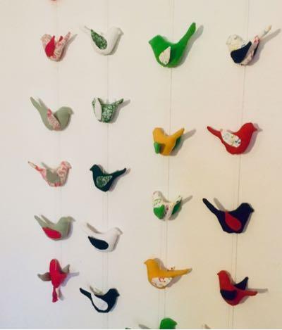 Guirlande Oiseaux