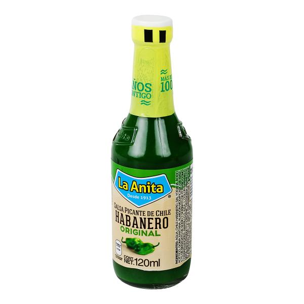 Sauce Habanero La Anita 120ml