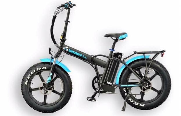 Smartbike Bigfoot Blau