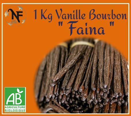 """1 kg Vanille Bourbon """"Faina"""""""
