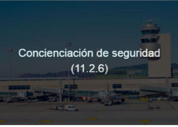 Concienciación de seguridad 11.2.6