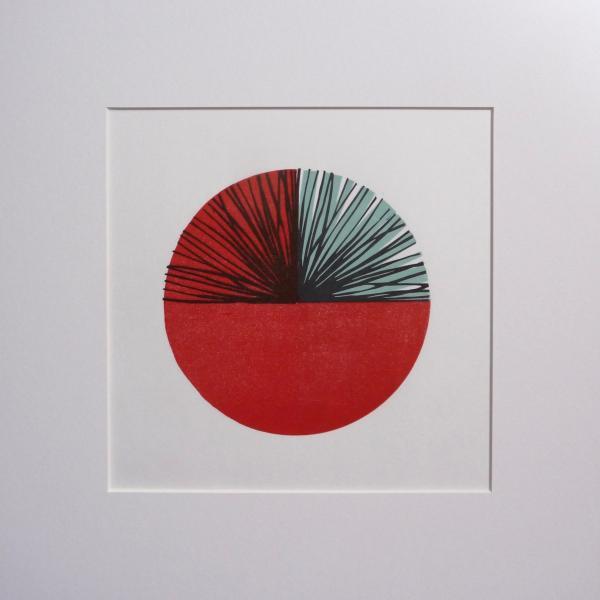 FUNCTION #1 Linocut Print